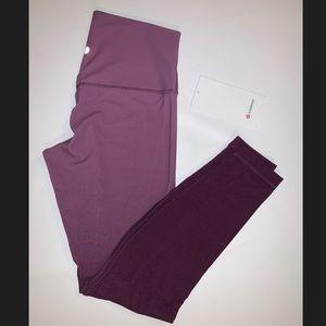 NWT Lululemon Align spray Ombré Pant Size 10